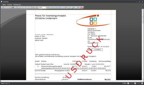 9. Produktbild ADTax �302-Kassenabrechnung und Privatrechnung