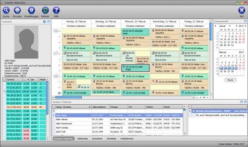 adad95 - Die Terminplanung, Telefontermine in Sekundenschnelle. Suche von Haupt und Nebenleistung, auch Serien.