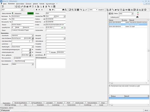 8. Produktbild Attina - Software für Zeitarbeit & Personalvermittler