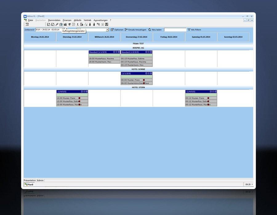 9. Produktbild Attina - Software f�r Zeitarbeit & Personalvermittler