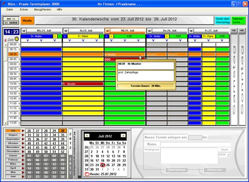 2. Produktbild Büro & Praxis Terminplaner 3000
