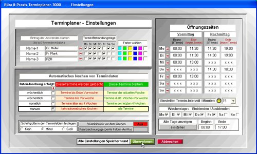 8. Produktbild Büro & Praxis Terminplaner 3000