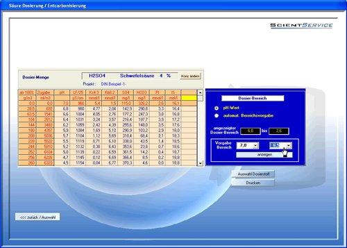 8. Produktbild Aquachem - Software f�r Trinkwasser-Aufbereitung+Planung