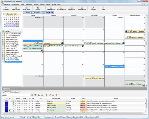 7. Produktbild Kundenbeziehungsmanagement - Treesoft CRM
