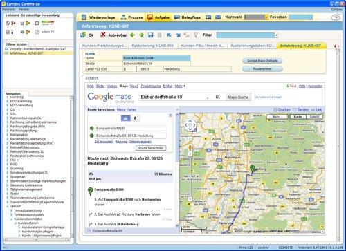 3. Produktbild Compex Commerce - f�r Gesch�ftsprozesse im Gro�handel