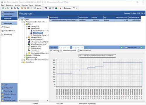 10. Produktbild GS-Service - Instandhaltungssoftware, IPS, Betriebsführung