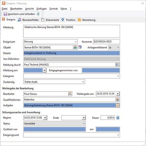 6. Produktbild GS-Service - Instandhaltungssoftware, IPS, Betriebsführung