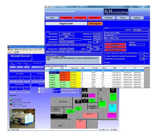 3. Produktbild flexpo - SUITE für MES, BDE,MDE,PZE,Lager und PDM-PLM