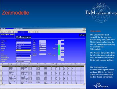 6. Produktbild flexpo - SUITE für MES, BDE, MDE, PZE, PDM-PLM