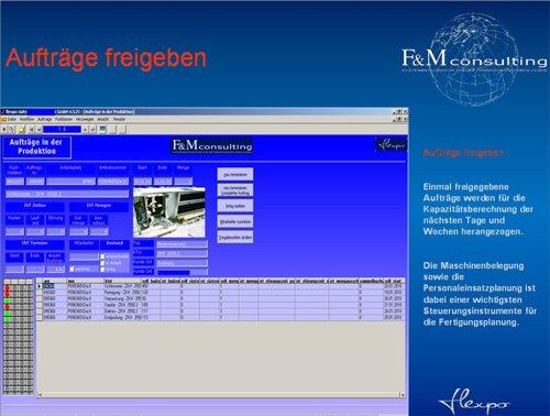 12. Produktbild flexpo - SUITE für MES, BDE, MDE, PZE, PDM-PLM