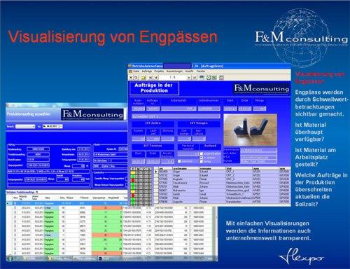 17. Produktbild flexpo - SUITE für MES, BDE, MDE, PZE, PDM-PLM
