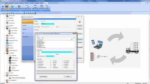 8. Produktbild ROBERT KNOWS - Inventarverwaltung / Vertr�ge / Lizenzen / Helpdesk