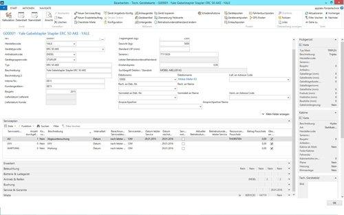 5. Produktbild Branchenlösung Rental & Service für Vermietung Flurförderzeuge