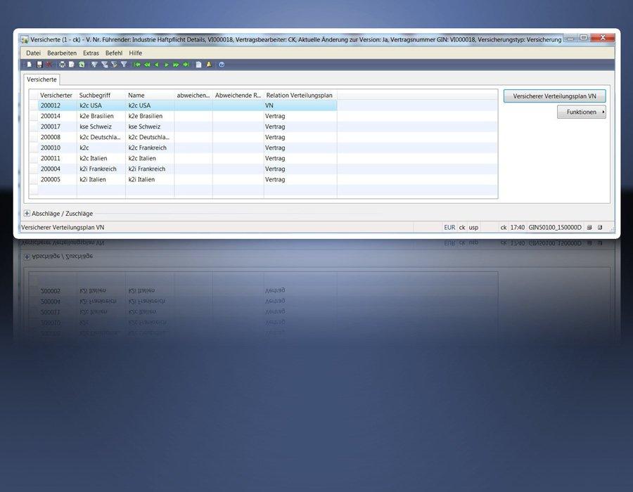 1. Produktbild GIN-AX : Maklersoftware f�r Versicherungsmakler und Versicherer