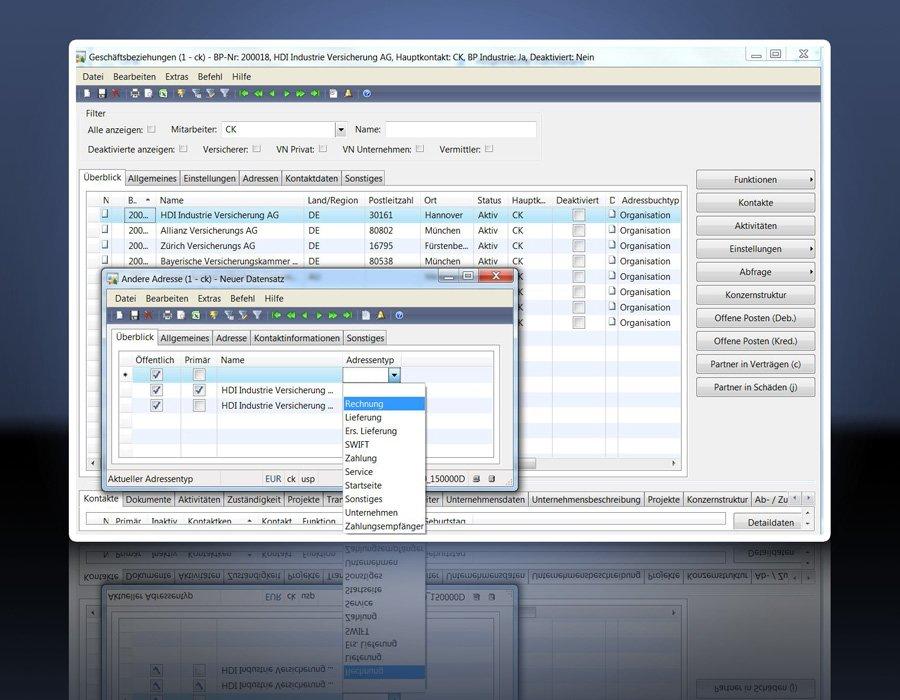 2. Produktbild GIN-AX : Maklersoftware f�r Versicherungsmakler und Versicherer