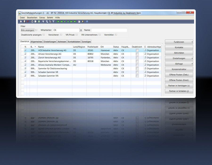 5. Produktbild GIN-AX : Maklersoftware f�r Versicherungsmakler und Versicherer