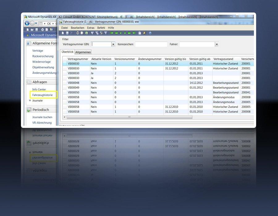 6. Produktbilld GIN-AX : Maklersoftware f�r Versicherungsmakler und Versicherer