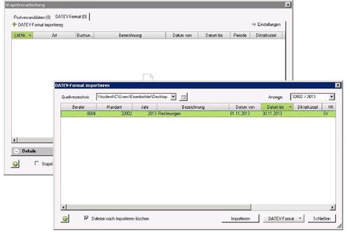 2. Produktbild UniPRO/DATEV-Schnittstelle f�r Microsoft Dynamics CRM