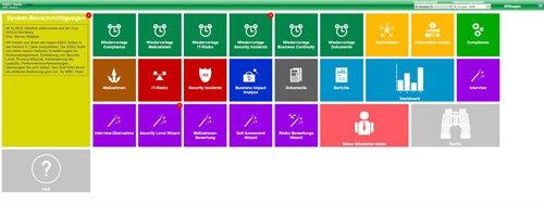 1. Produktbild QSEC Suite - Compliance, IT GRC und ISMS (nach ISO 27001)