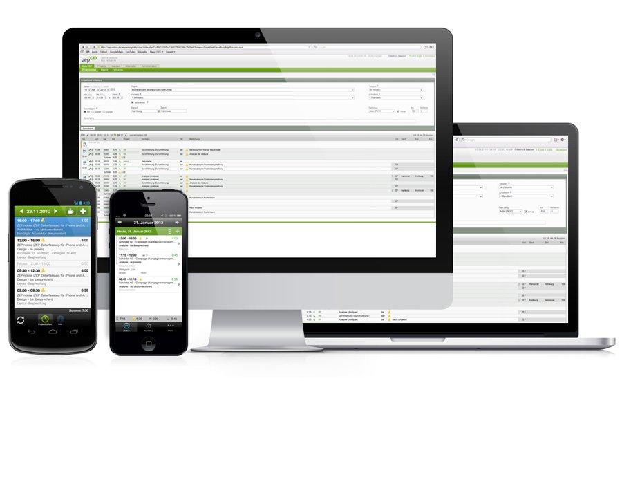 1. Produktbild ZEP - Zeiterfassung für Projekte