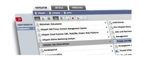 2. Produktbild Infopark Cloud Express