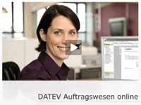 DATEV Auftragswesen online