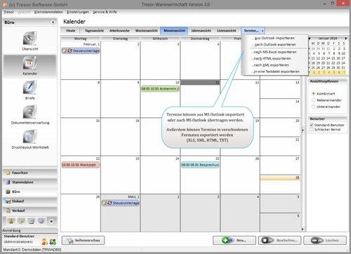 14. Produktbild Tresor Bürosoftware