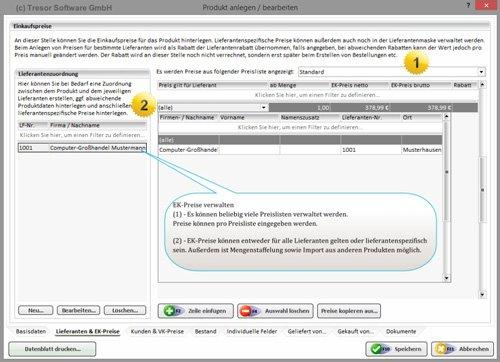 6. Produktbild Tresor Bürosoftware