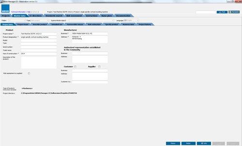 3. Produktbild WEKA Manager CE - für CE-Prozess nach Maschinenrichtlinie 2006/42/EG