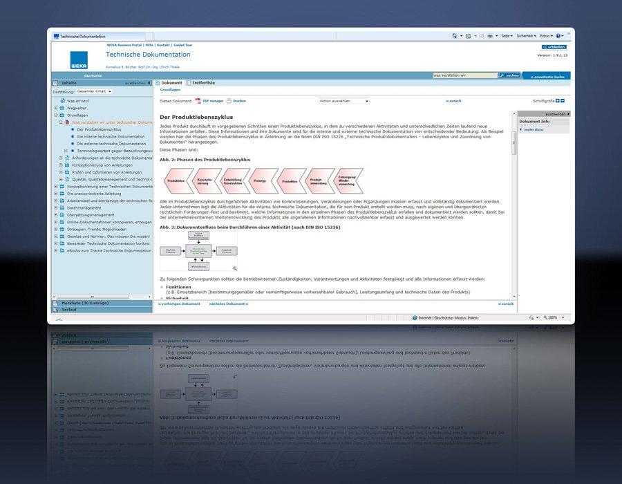 1. Produktbild Technische Dokumentationen - rechtskonform erstellen