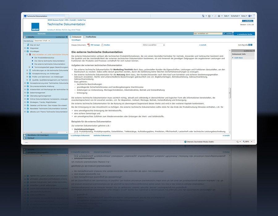 3. Produktbild Technische Dokumentationen - rechtskonform erstellen