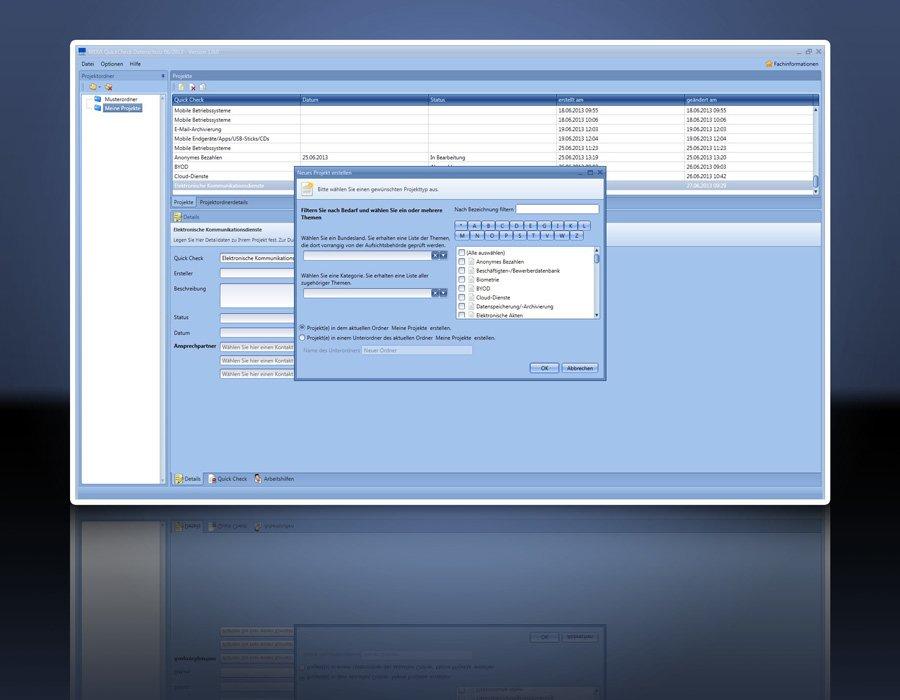 2. Produktbild Praxissoftware Quick Check Datenschutz