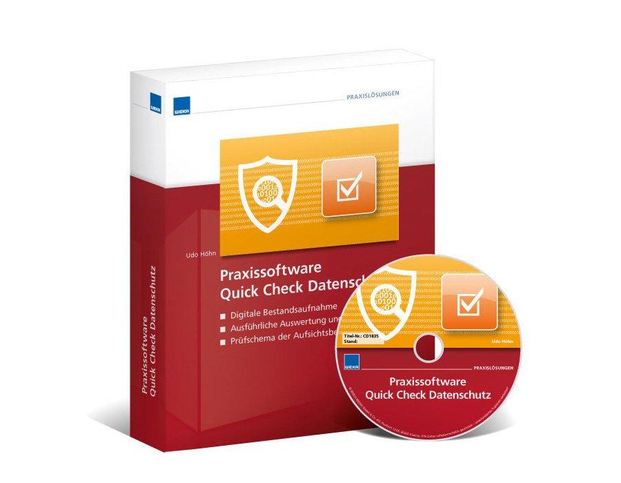 1. Produktbild Praxissoftware Quick Check Datenschutz