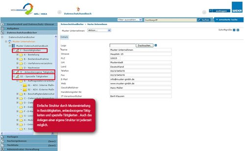 2. Produktbild Das elektronische Datenschutzhandbuch