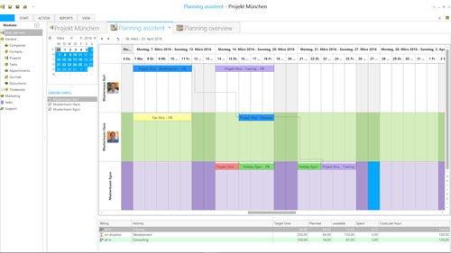 4. Produktbild Sunrise Software Relations CRM
