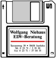 Firmenlogo Wolfgang Niehaus EDV Beratung Iserlohn