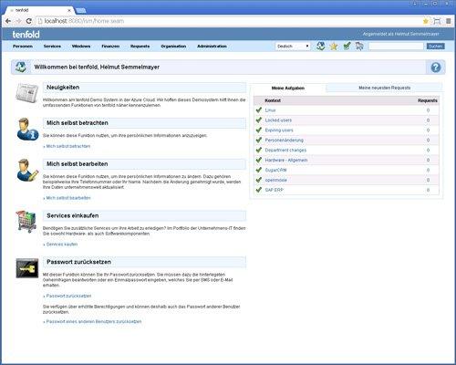1. Produktbild tenfold - Integrierte Lösung für Berechtigungsverwaltung