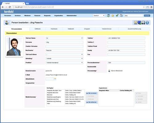 2. Produktbild tenfold - Integrierte L�sung f�r Berechtigungsverwaltung