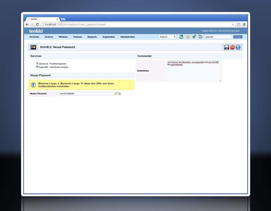 10. Produktbild tenfold - Integrierte L�sung f�r Berechtigungsverwaltung