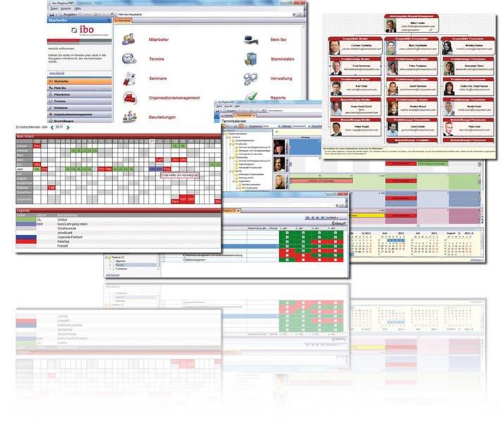 Produktbild Personalmanagement Software ibo Pegasus.NET