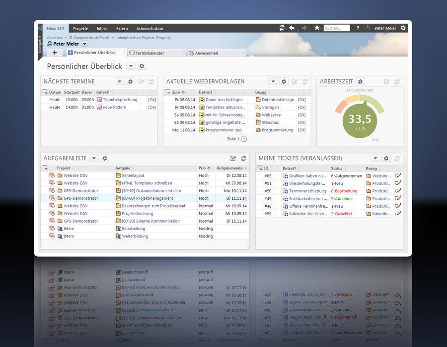 3. Produktbild Projektron BCS - die webbasierte Projektmanagement-Software
