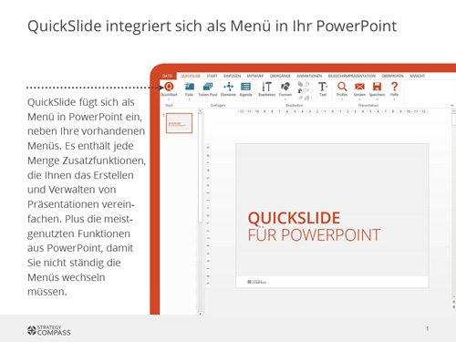 1. Produktbild Quickslide