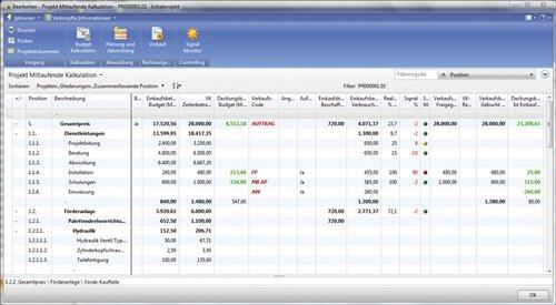 5. Produktbild cc|project für Dienstleister auf Basis von Microsoft Dynamics