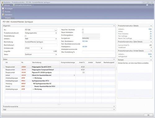 2. Produktbild cc|prozessfertigung auf Basis von Microsoft Dynamics