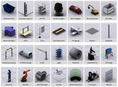 2. Produktbild visTABLE�touch - Fabrikplanungssoftware