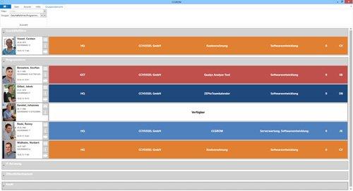 4. Produktbild CCGROM - Software zur einfachen Ressourcenplanung