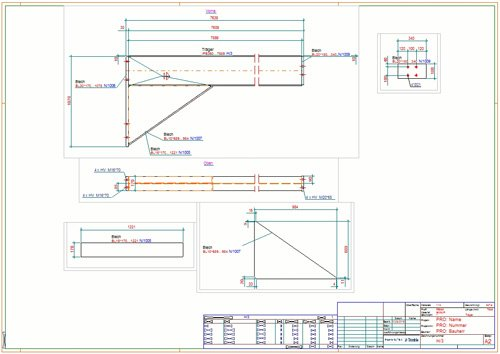 4. Produktbild Tekla Structures für Stahlbau / Metallbau / Anlagenbau / Stahlbetonbau