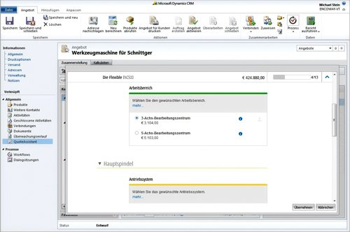 2. Produktbild QuoteAssistant for Microsoft Dynamics CRM