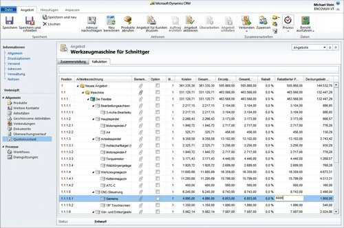 3. Produktbild QuoteAssistant for Microsoft Dynamics CRM