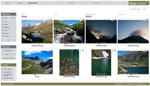 3. Produktbild blue.media - Die Bilddatenbank